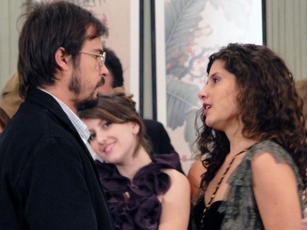 Raquel se declara para Cristiano (Foto: Morde & Assopra / TV Globo)