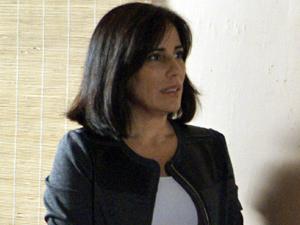 Norma mente sobre Ismael (Foto: Insensato Coração/ TV Globo)