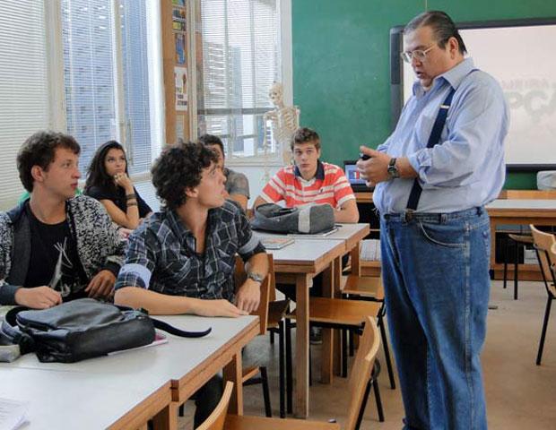 Romero e Lúcio (Foto: Malhação/ TV Globo)