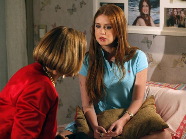 Alice admite que chegou a pensar em perdoar Guilherme antes de descobrir a traição (Foto: Morde & Assopra / TV Globo)