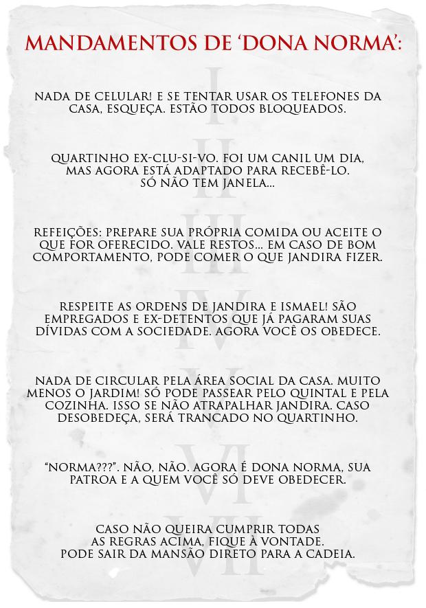 'Dona Norma' (Foto: Insensato Coração/TV Globo)