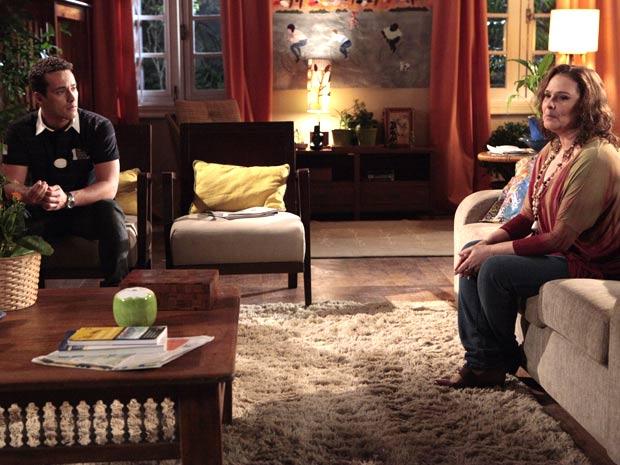 Eduardo abre o jogo (Foto: Insensato Coração / TV Globo)