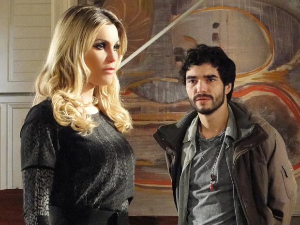 eu-preciso-do-odio-para-ficar-ligada (Foto: Morde e Assopra / TV Globo)