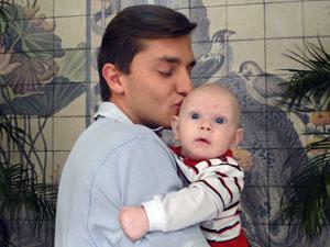Klebber garante que vai ser um super pai (Foto: Morde & Assopra / Tv Globo)