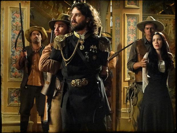 Rei Augusto, Dora e todos do Palácio são presos (Foto: Cordel Encantado/Tv Globo)