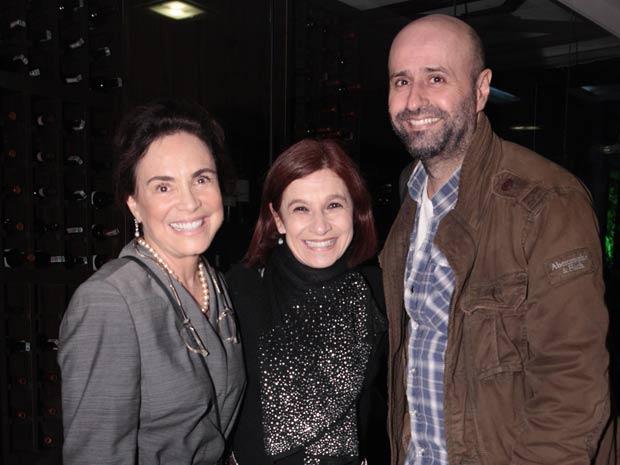 Regina Duarte e Mauro Mendonça Filho (Foto: O Astro /  TV Globo)