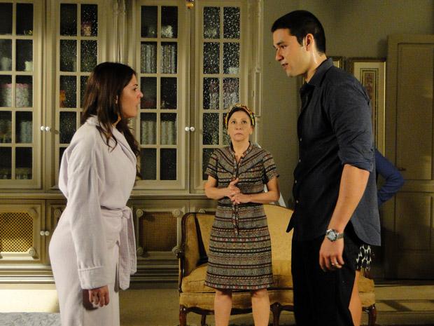 Marcos termina o casamento com Natália (Foto: Morde&Assopra/TVGlobo)