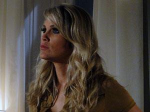 Naomi fica indignada com acusação (Foto: Morde & Assopra / TV Globo)
