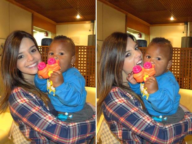 Giovanna paparica Guilherme (Foto: Insensato Coração / TV Globo)