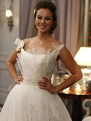 Marina de noiva (Foto: Insensato Coração/TV Globo)