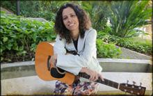 Núria Mallena canta tema de Açucena e Jesuíno (cordelencantado/tvglobo)