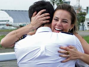 Viagem para Angra traz surpresas (Foto: Insensato Coração/TV Globo)