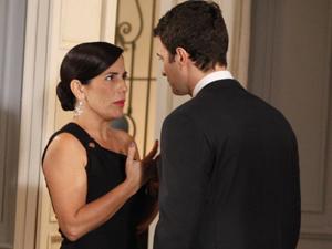 Será que Léo e Norma vão conseguir se casar? (Foto: Insensato Coração/ TV Globo)