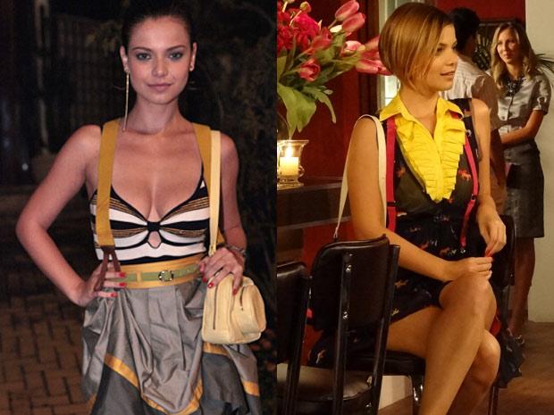 Milena Toscano ganha visual moderno para viver Vanessa (Foto: Fina Estampa/TV Globo)