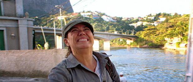 Griselda mora no Quebra-Mar, no Jardim Oceânico (Foto: Fina Estampa/TV Globo)