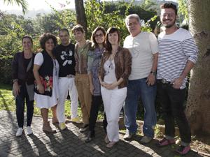 Equipe de figurino de Fina Estampa (Foto: Fina Estampa/TV Globo)