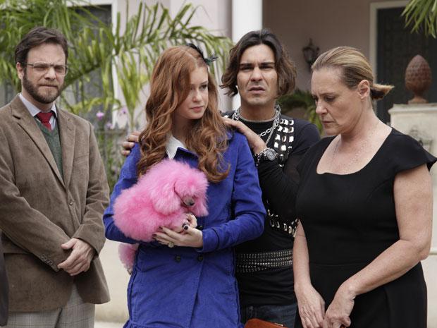 Alice sugere que Minerva peça abrigo para Lilian e Moisés (Foto: Morde&Assopra/TVGlobo)