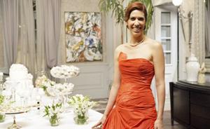 O vestido de Bibi deixou Douglas de queixo caído. Veja os looks do casamento (insensatocoração/tvglobo)
