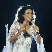 Simone arrasou em um show na Barão da Gamboa (insensatocoração/tvglobo)