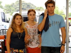 Betão, Michele e Débora (Foto: Malhação / TV Globo)