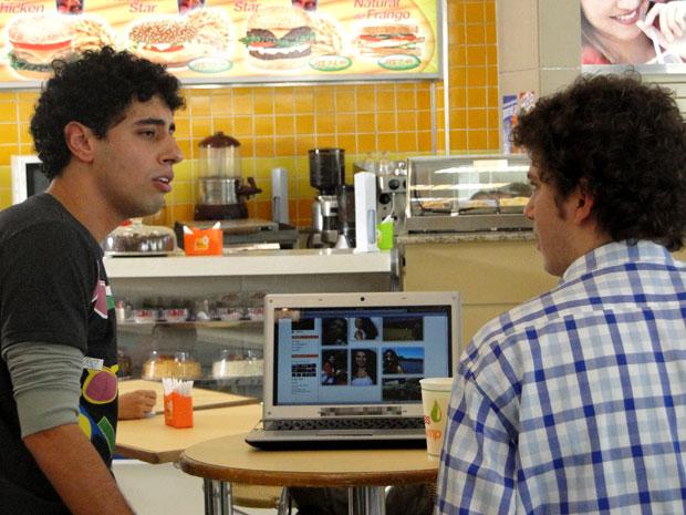 Redes sociais (Foto: Malhação / Tv Globo)