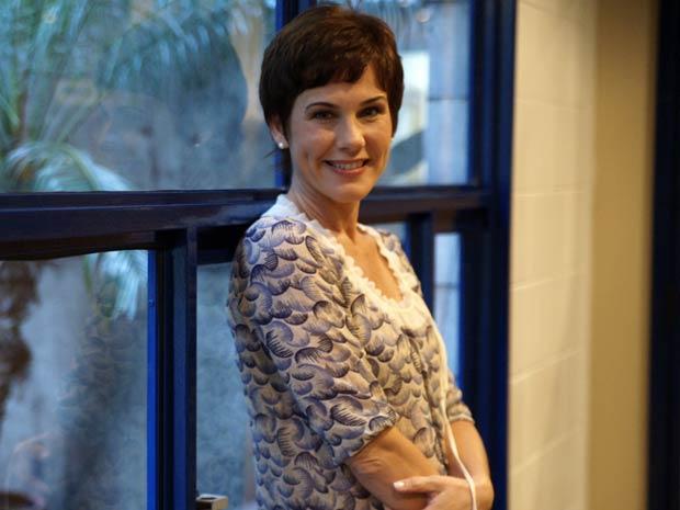 Andrea Veiga será paciente de Daniella Fraser (Foto: Fina Estampa / TV Globo)