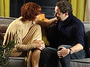 Paulo diz que apoiará a mulher (Foto: Fina Estampa/ TV Globo)