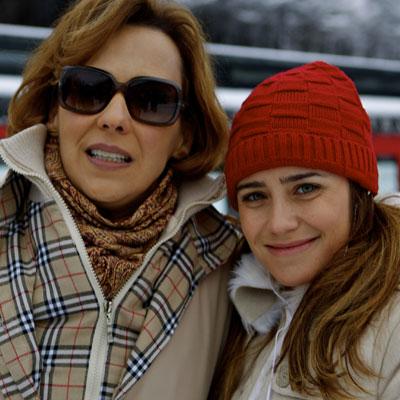 Fernanda Vasconcellos e Ana Beatriz Nogueira viverão Ana e Eva (Foto: A Vida da Gente / TV Globo)