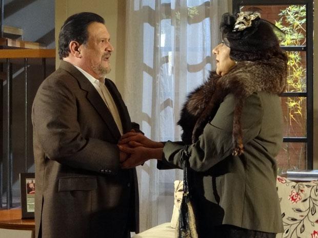 Salomé pede para se casar com Oséas (Foto: Morde&Assopra / TVGlobo)