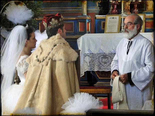 Padre Joaquim se recusa a casar Timóteo e Açucena