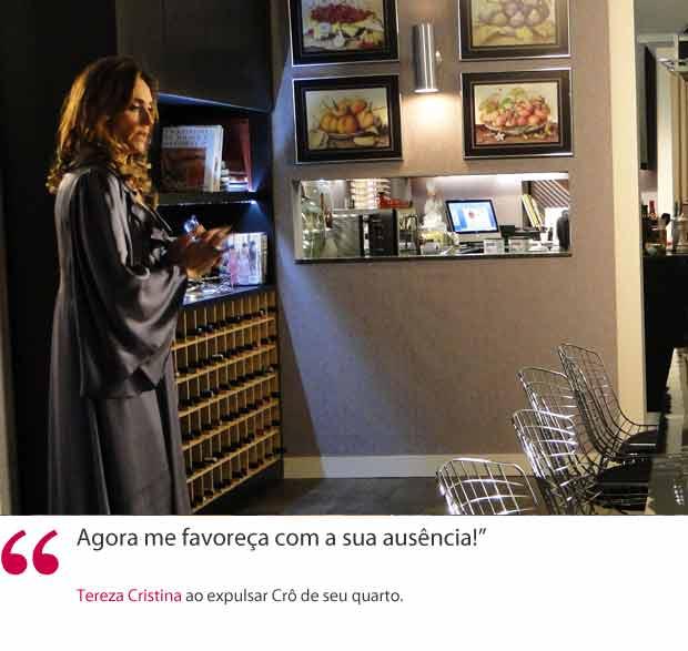 Tereza Cristina (Foto: Fina Estampa/TV Globo)
