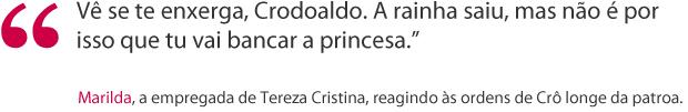 Frase Marilda (Foto: Fina Estampa / TV Globo)