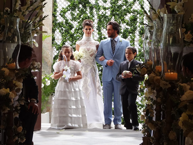 Lili-Herculano-casamento-O Astro (Foto: O Astro / TV Globo)
