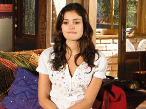 Amália fica pensativa com a as palavras de Zilá (Foto: Fina Estampa/ TV Globo)