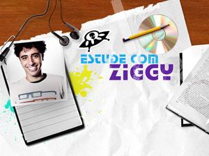 Estude com Ziggy (Foto: Malhação / TV Globo)