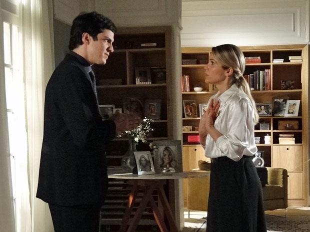 Ícaro coloca um ponto final no relacionamento com Naomi (Foto: Morde & Assopra/TV Globo)