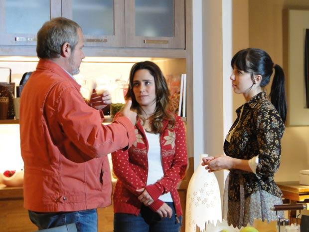Jayme Monjardim é criterioso na direção das cenas (Foto: A Vida da Gente / TV Globo)