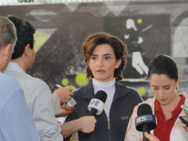 Vitória é convincente (Foto: A Vida da Gente / TV Globo)