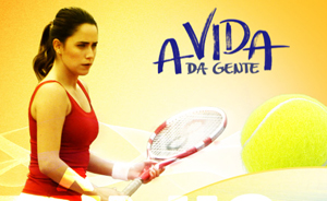 partida de tênis (Foto: avidadagente/tvglobo)