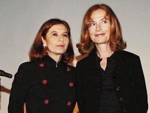 Tuna e Isabelle Huppert