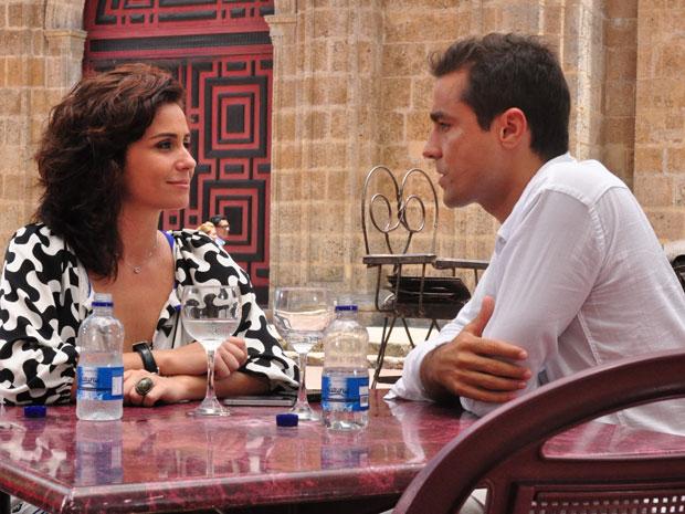 Giovanna Antonelli e Ricardo Pereira farão par romântico (Foto: TV Globo)