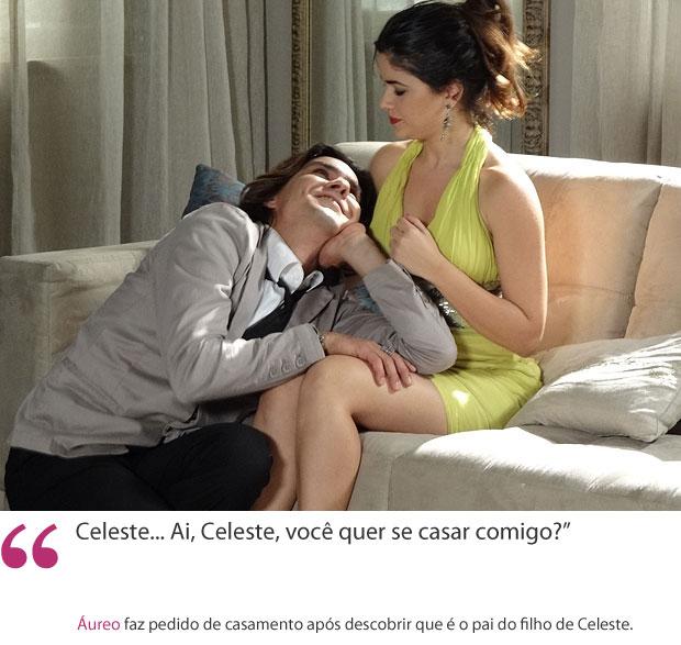 Áureo e Celeste (Foto: Morde & Assopra/TV Globo)