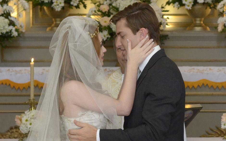 Alice e Guilherme juram amor eterno