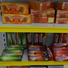 Veja os produtos fictícios da loja de conveniência do posto (Malhação / TV Globo)