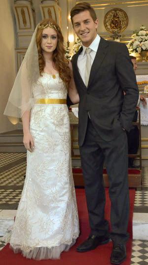 Alice e Guilherme casamento Morde e Assopra