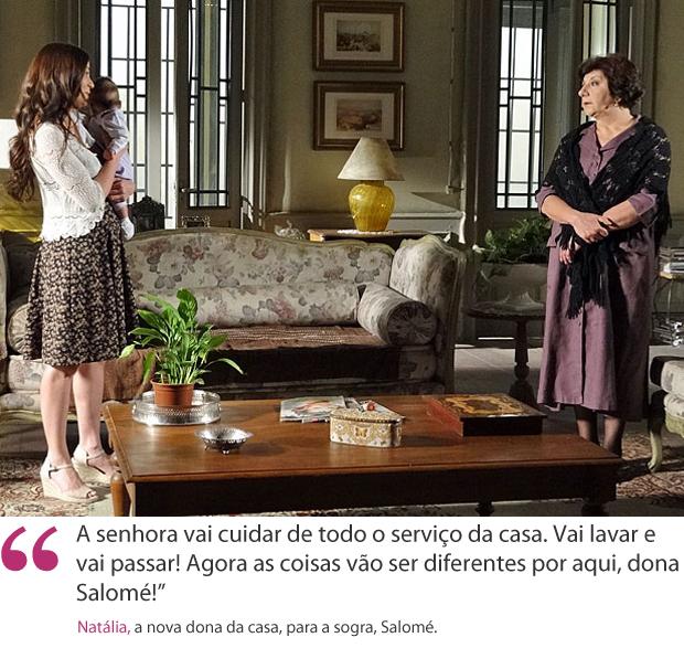 frase natália salomé (Foto: Morde & Assopra / TV Globo)