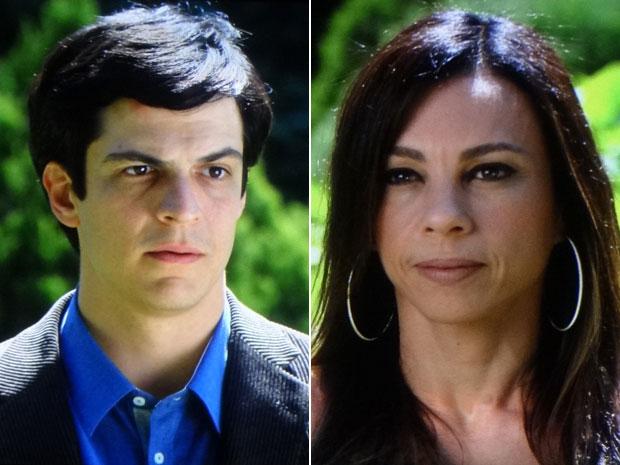 Ícaro insiste na ideia de ficar com a guarda de Rafael (Foto: Morde & Assopra/TV Globo)