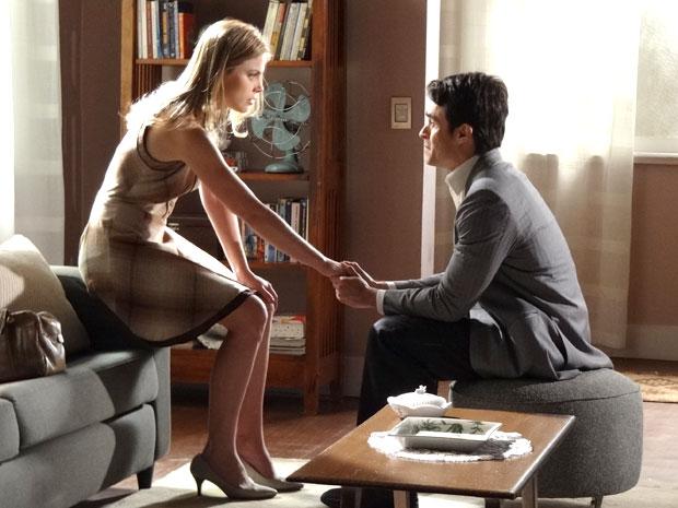 Melissa coloca um ponto final no relacionamento com Francisco (Foto: Morde & Assopra/TV Globo)