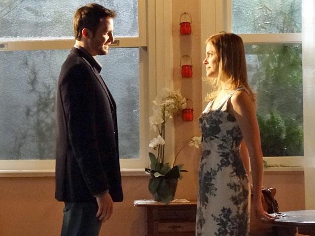 Wilson pede Melissa em casamento (Foto: Morde & Assopra/TV Globo)