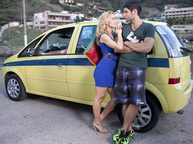 Carolina Dieckmann e Dudu Azevedo (Foto: Fina Estampa/ TV Globo)